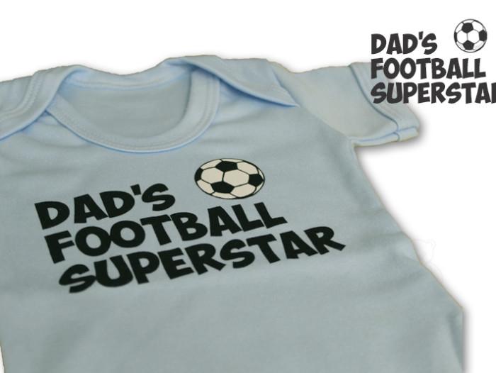 Football Superstar Bodysuit - Cute & Cuddly Babywear