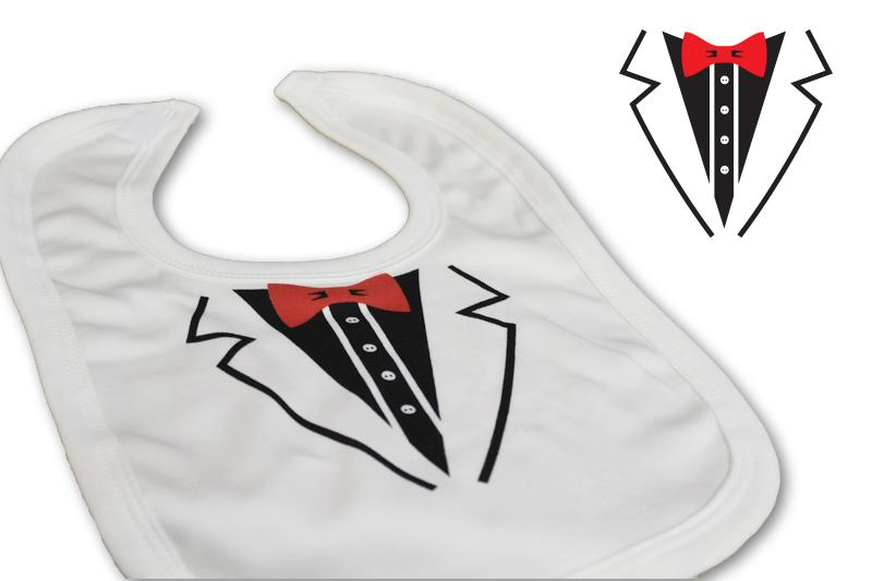 Tuxedo Bib - Cute & Cuddly Babywear